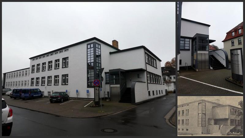 Falkestraße: Behördenhaus seit 1931. Hausinformationen