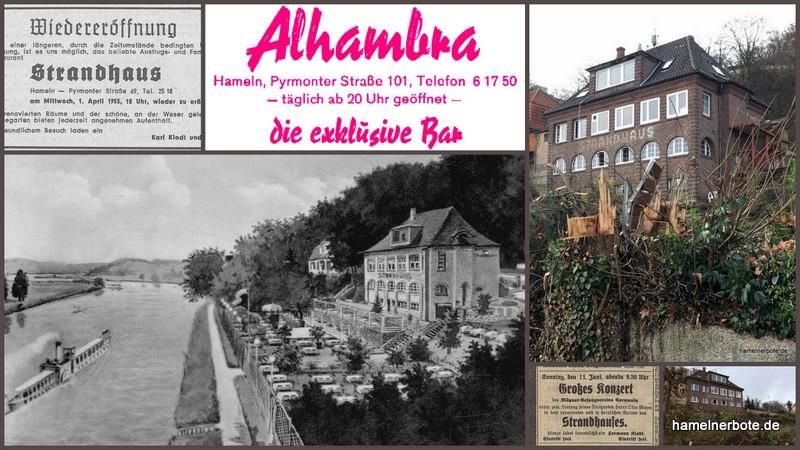 Hausgeschichte: Strandhaus Hameln, Pyrmonter Straße 101