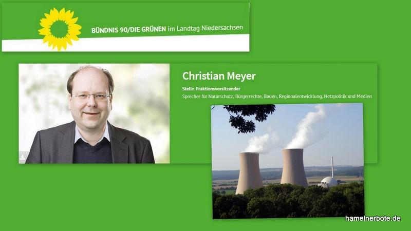 Pressemitteilung: Landtags-Grüne kritisieren lange Laufzeit für AKW Grohnde