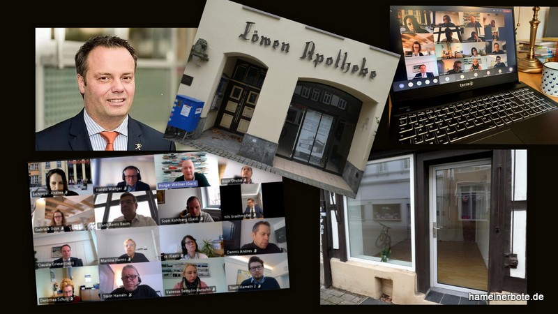 Presseinformation Oberbürgermeister Claudio Griese: Hamelns Strategie für die Innenstadt