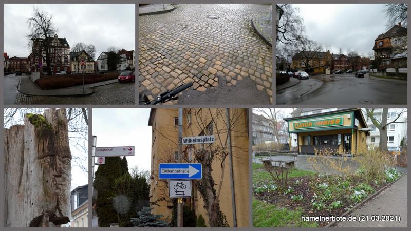Wilhelmsplatz Hameln – Neugestaltung geplant.