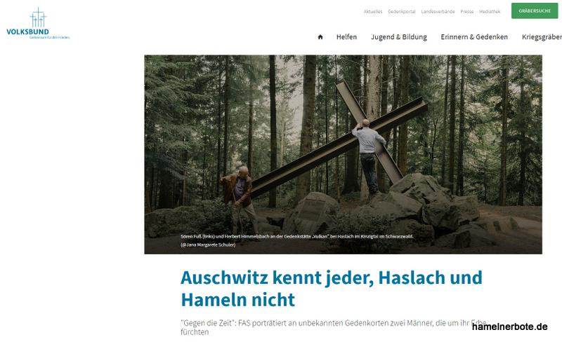 Lesenswerter Bericht über Bernhard Gelderblom