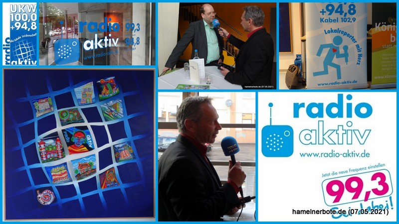 Hagen Wolf verlässt* Hameln. Radio Aktiv sucht einen neuen Geschäftsführer