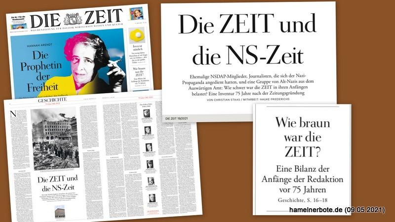 """Wie """"braun"""" war die Lokalpresse in Hameln zwischen 1920 und 1970?"""