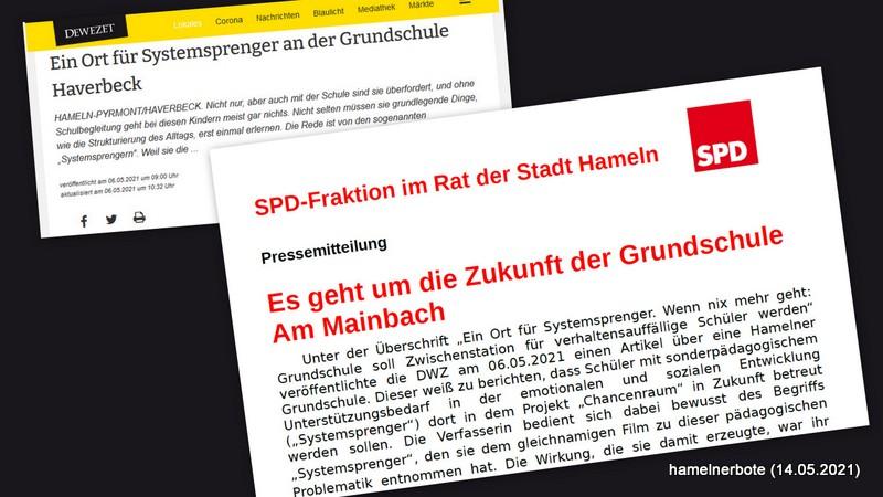 """Konflikt um """"Konfliktsprenger"""" (?) – Pressemitteilung der SPD über deutliche Aufregung in der Elternschaft Halvestorf/Haverbeck"""