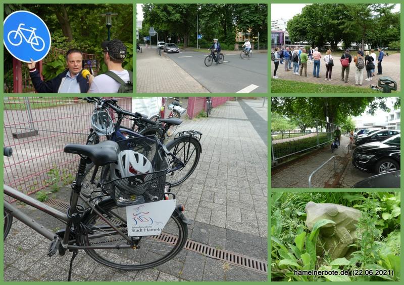 Radwegfreigabe und Bürgergarten(neu)gestaltung am 22.06.2021: Verlaufsbericht und Infosammlung
