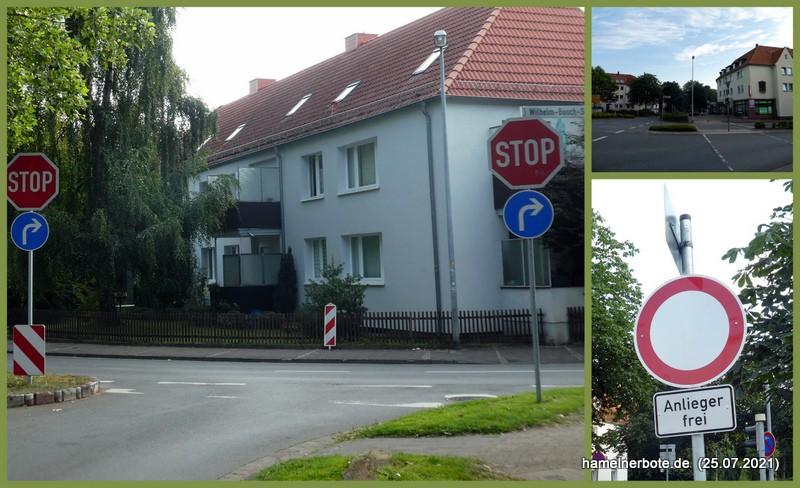 Neue Verkehrsregeln in der Goethestraße
