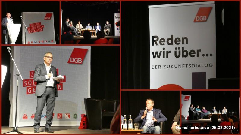Eine Veranstaltung – zwei Diskussionsebenen: Oberbürgermeister- und Bundestagswahl. Kandidatenvorstellung in der Sumpfblume
