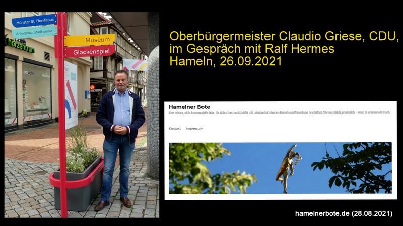 Vorgestellt: Claudio Griese, Oberbürgermeisterkandidat der CDU für die Stadt Hameln