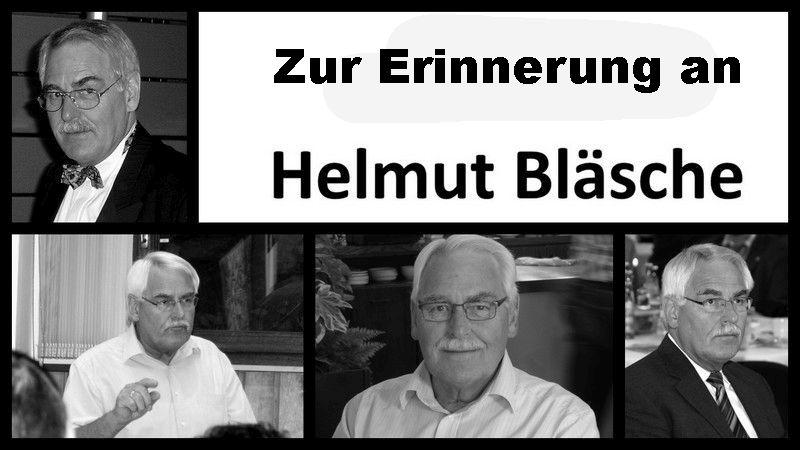 Zur Erinnerung an Helmut Bläsche
