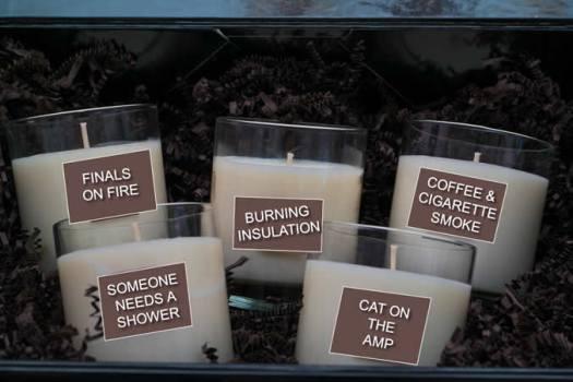 Ham Radio scented candles