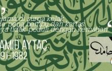 Kesan Mereka Tentang Kaligrafer Hamid Aytac