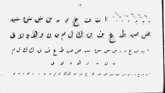 jenis khot arab-riq'ah (1)