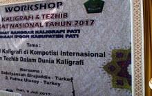 Workshop Kaligrafi dan Tadzhib; Semangat Baru dari Pusaka Pati