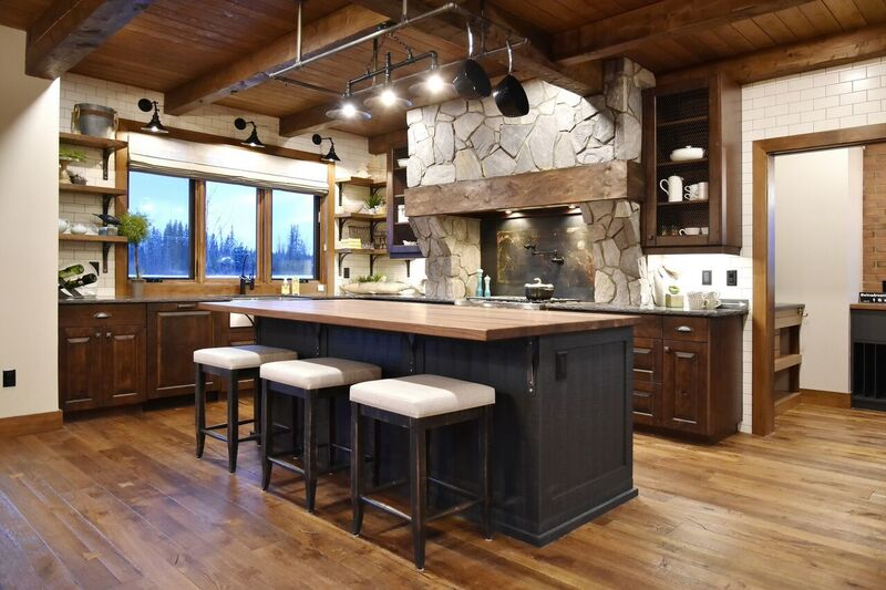 amazing timber frame kitchen ideas hamill creek timber homes on kitchen design ideas photos and videos hgtv id=28015