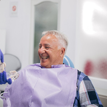 never too late to visit dentist