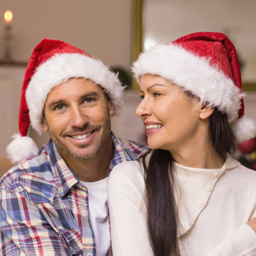treat yourself to a new christmas smile