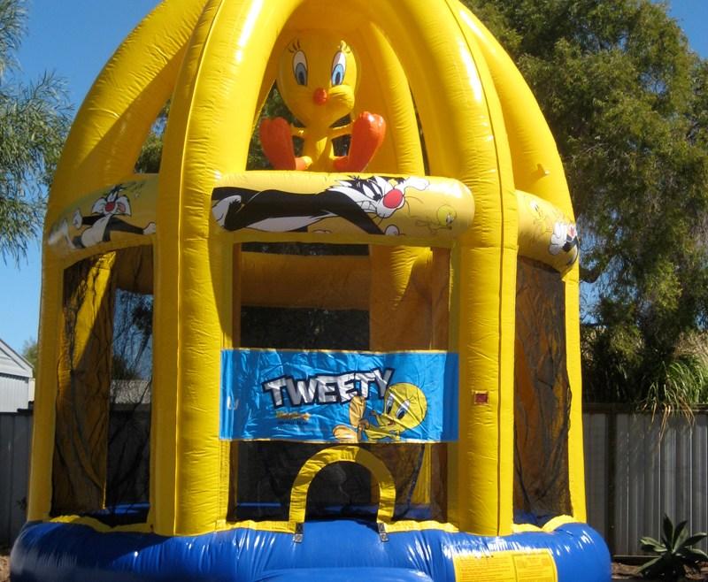 Tweety Jumping Castle