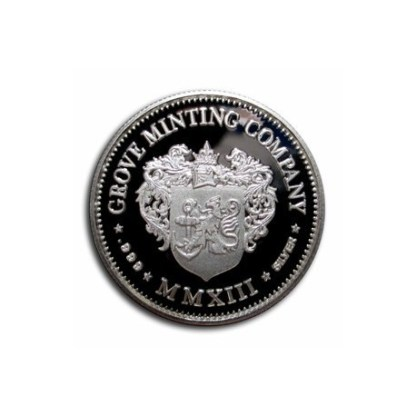 Grove Minting Commemorative Token Helmeted Liberty Half Dollar