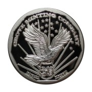 Grove Minting Silver Commemorative Proof of the 1977 Liberty Dollar Reverse