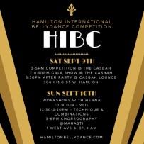 hibc schedule