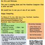 Hamilton Computer Club Newsletter