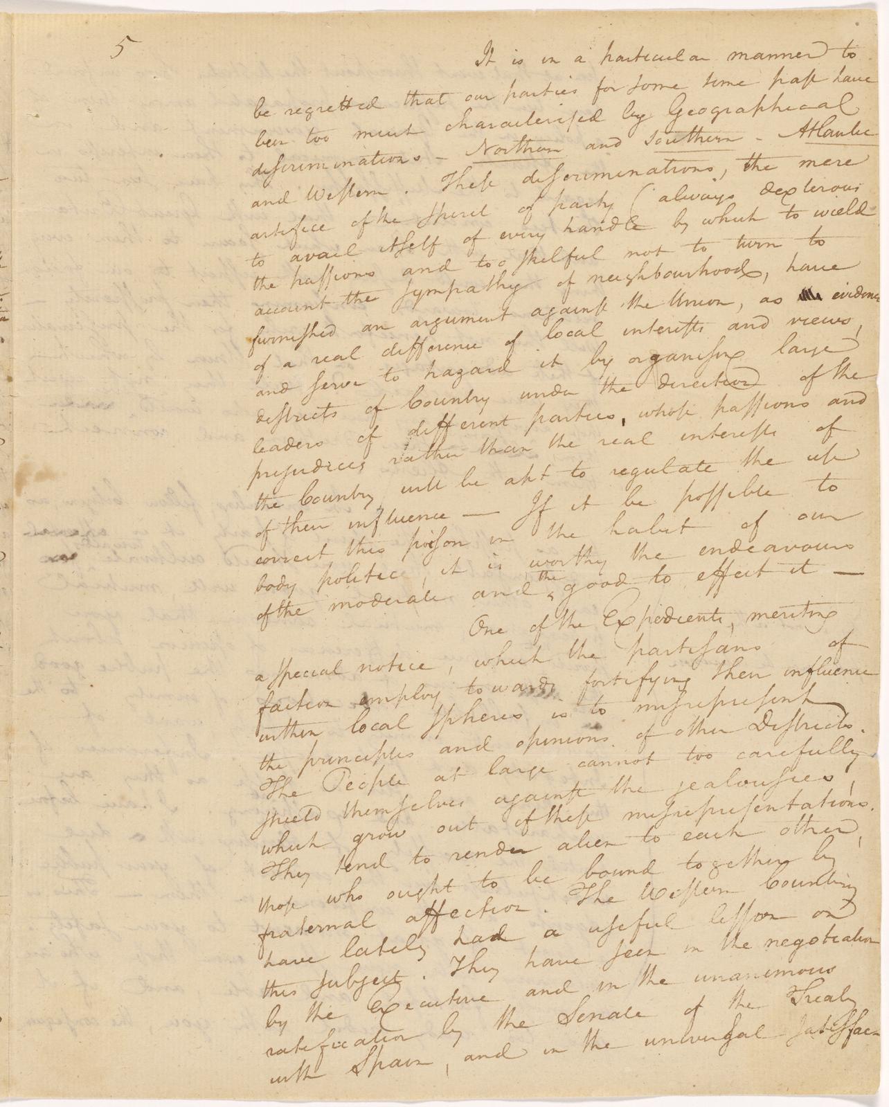 Washington S Farewell Address The Ten Dollar Founding Father