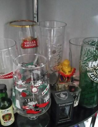 The spoils of drunken looting