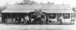 The picture of the Hogg Ranch House is from the July 22, 2004 issue of The Hamilton Herald-News.  Sent to The Hamilton Herald-News by Elizabeth Grahame, of Edinburgh, Scotland.  Ms. Grahame is the granddaughter of James C. K. Hogg.