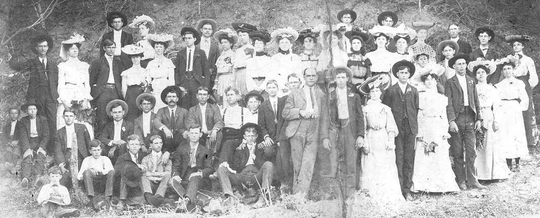 Ohio Singing School, 1904 submitted by Norene Brian Walls