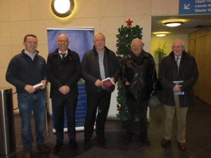Kieran Hurley, ODM Financial. Eugene O Brien, Acting Principal. Gearoid O Driscoll, ODM Accountants. Padraig Hamilton, Patron. Gus O Brien, Chairman of the Board of Management.