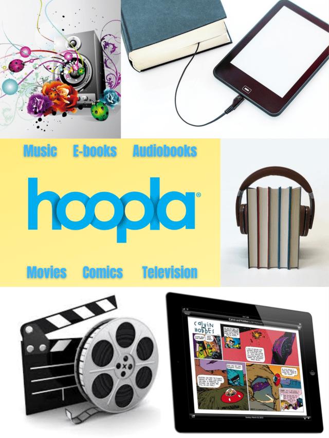image of Hoopla offerings