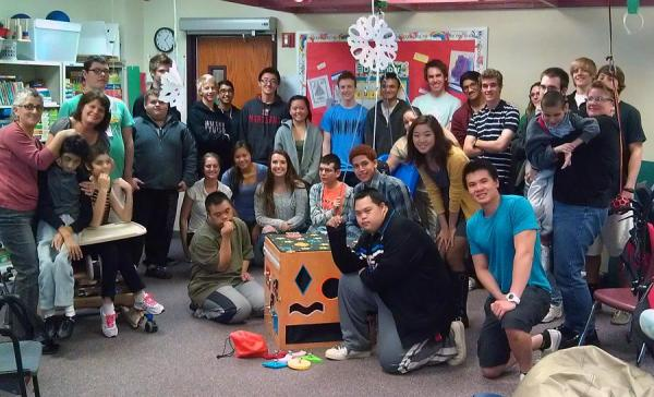 Engineering Students Build Cube for Special Education ...