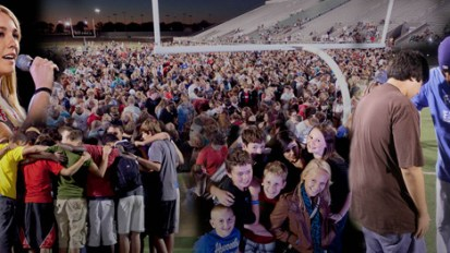 FCA in CBN News: 'God Is up to Something HUGE': 200,000 Students Taking Their Faith to the Fields Oct. 10
