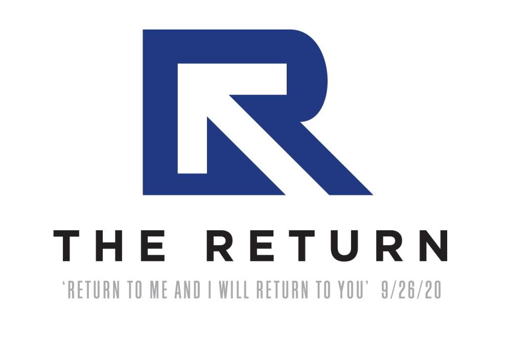 The Return Logo Dark Blue