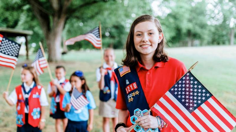 American Heritage Girls for CBN News: 'Heritage' is Crucial to Our Name