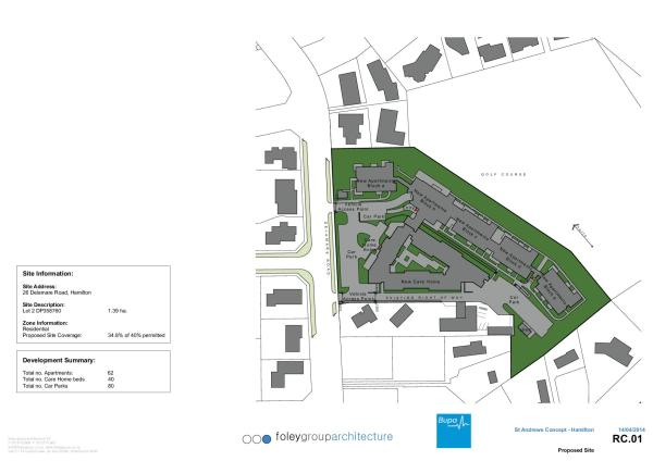 Delamare retirement village - Bupa Architectural Plans-2
