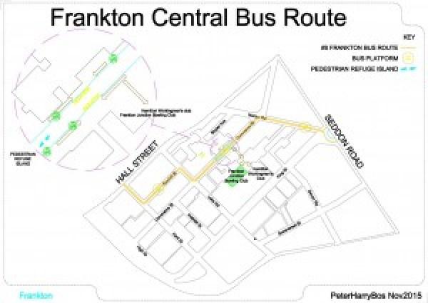 Frankton Central Bus Route