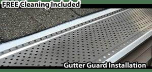 Hamilton_Gutter_Guard_Installtion