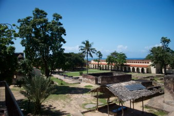 The fort interior