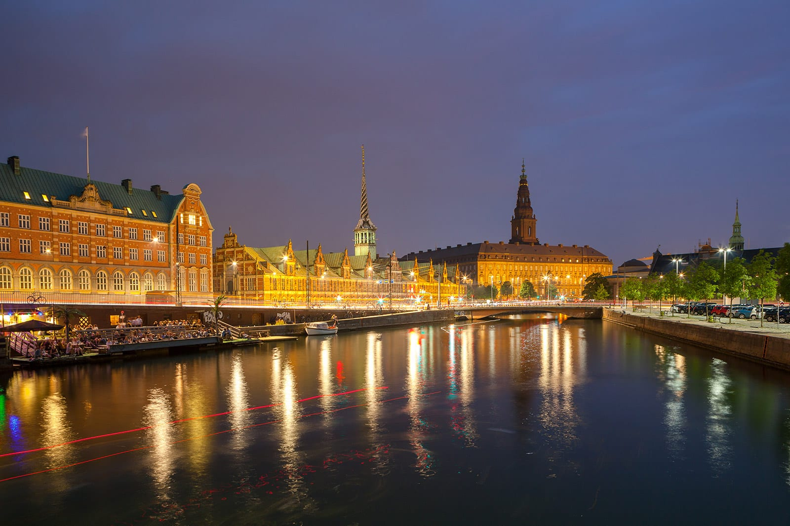 Christiansborg Palace and the old stock exchange