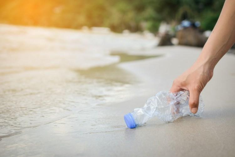 limpiar playa verano