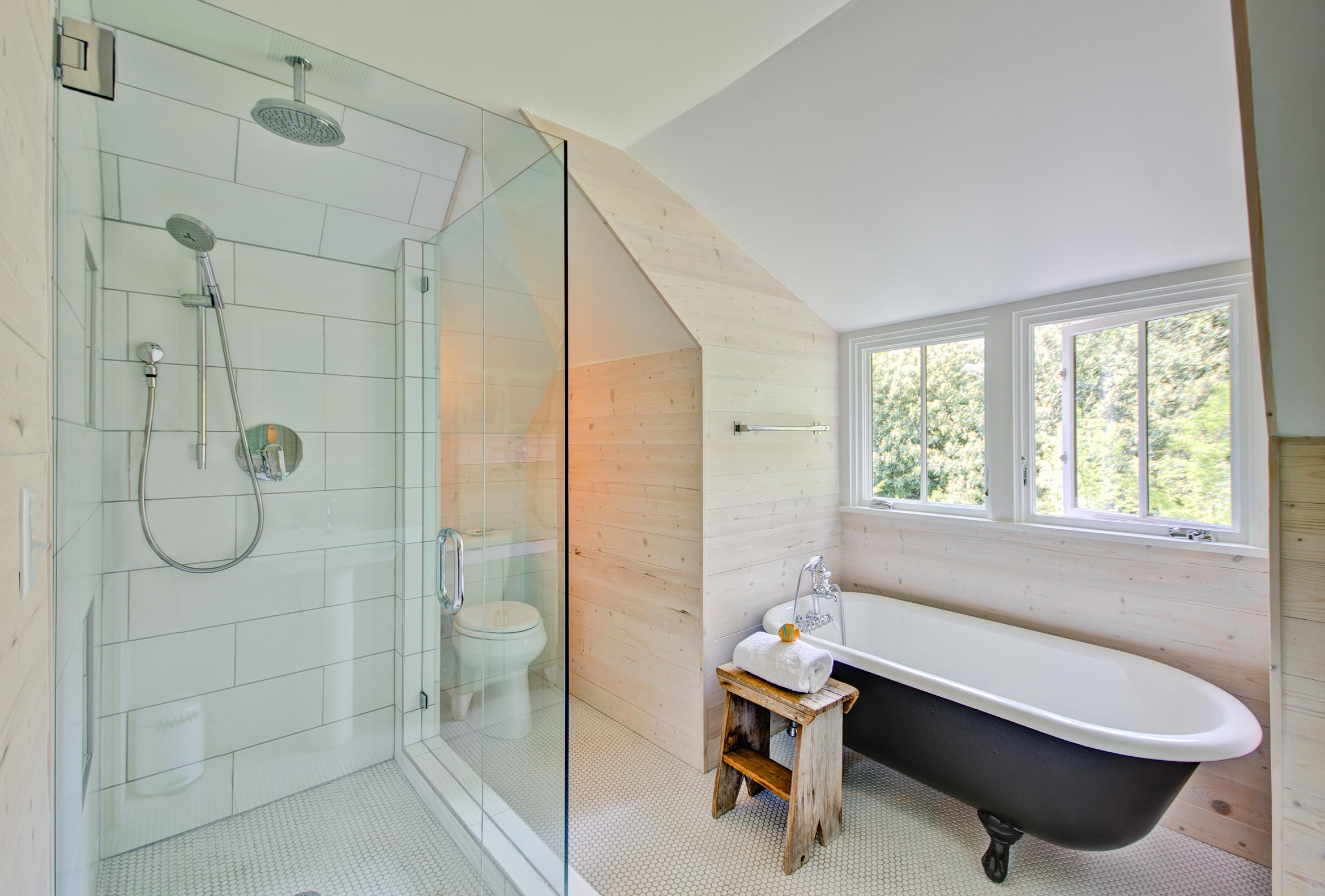 Home Remodeling Pics from Portland & Seattle | Modern ... on Modern Farmhouse Shower  id=97055