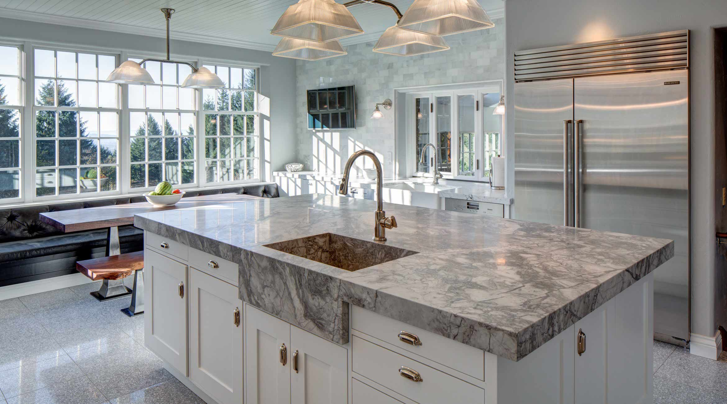 7 Most Popular Countertop Materials For Kitchen Remodels