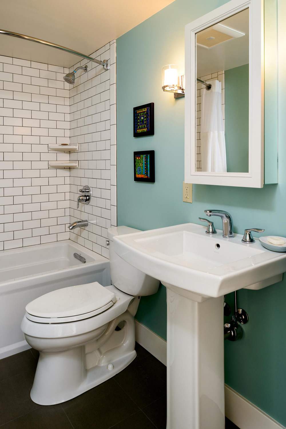 5 Creative Solutions for Small Bathrooms | Hammer & Hand on Simple:zvjxpw8Nmfo= Small Bathroom Ideas  id=32174