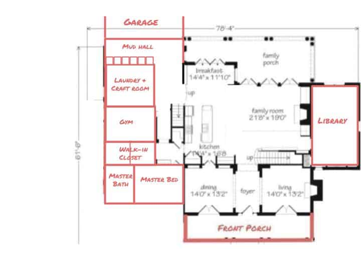 designing french country home downstairs