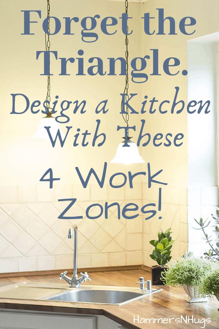 Design an Efficient Kitchen Around These 4 Work Zones