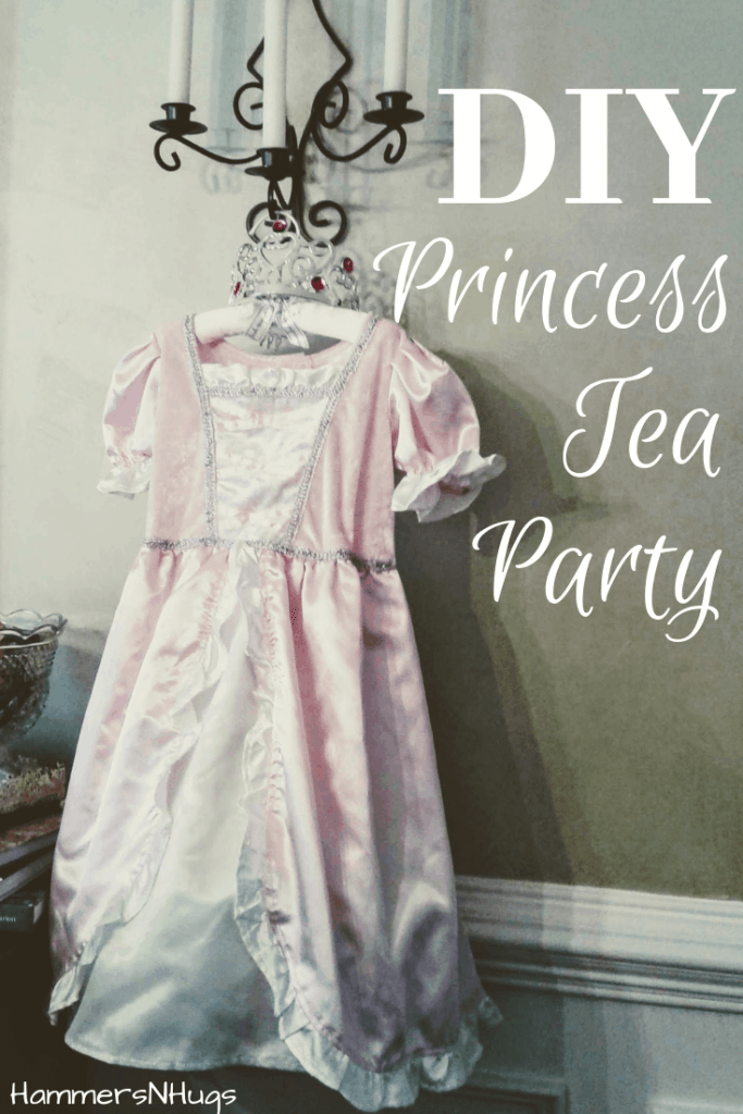 princess tea part for a birthday girl