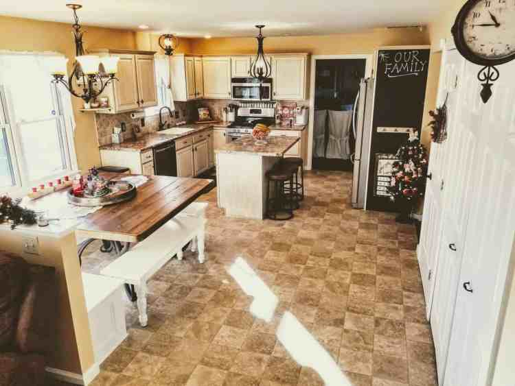 Foreclosure to French Country Kitchen Renovation - Hammers N