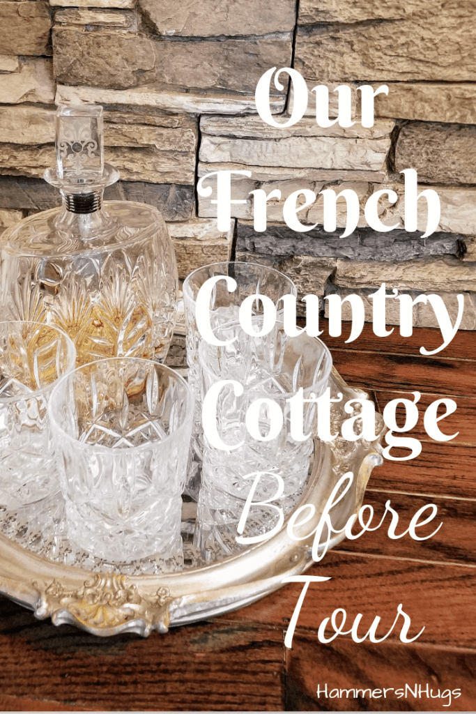 french country cottage before tour